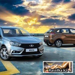 База номеров владельцев авто марки ВАЗ (Lada) Казахстан
